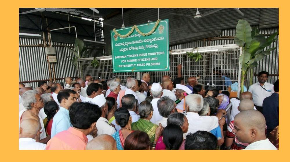 Senior Citizens Darshan